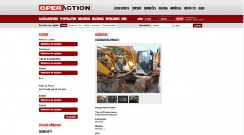 Sistema de vendas de máquinas pesadas
